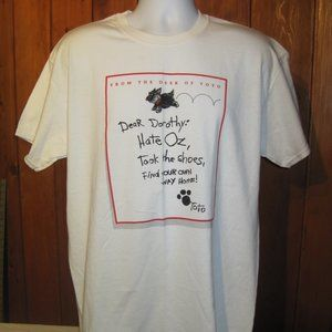 Dorthy and Toto T-Shirt size L